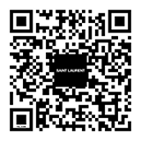 QR Code to the official Wechat account of Saint Laurent